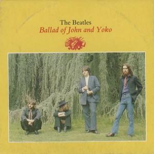14 APRILE 1969 THE BALLAD OF JOHN AND YOKO - THE BEAT CIRCUS CUNEO