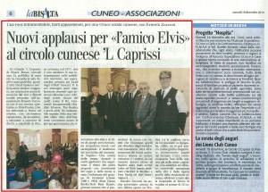 19-12-14 LA BISALTA - CAPRISSI RESOCONTO PAGINA 6 CUNEO ASSOCIAZIONI