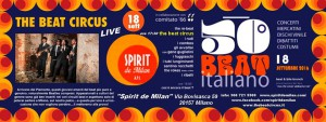 50 SPIRIT BEAT - LE DUE GIORNATE DI MILANO DI CLAUDIO SCARPA