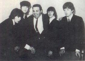 GUIDONE AND THE BEATLES - TEATRO ADRIANO ROMA - THE BEAT CIRCUS CUNEO