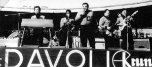 GUIDONE E I SUOI AMICI VELODROMO VIGORELLI 24 GIUGNO 1965 - THE BEAT CIRCUS CUNEO