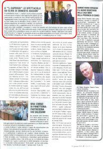 IDEA 15-01-15 PAGINA 45 RESOCONTO ELVIS, UN RE PER AMICO - THE BEAT CIRCUS CUNEO