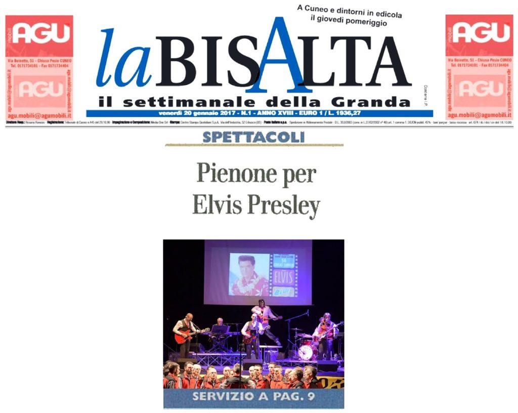 LA BISALTA  20 01 2017 - THE BEAT CIRCUS