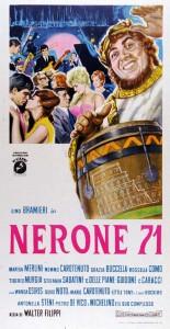 LOCANDINA NERONE 71 - THE BEAT CIRCUS CUNEO
