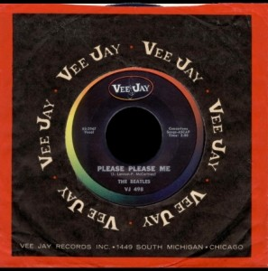 PLEASE PLEASE ME VEE JAY - THE BEAT CIRCUS CUNEO