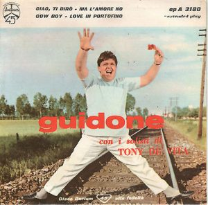GUIDONE PRIMO EP DURIUM 1959 - THE BEAT CIRCUS CUNEO