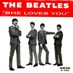 SHE LOVES YOU SWAN - THE BEAT CIRCUS CUNEO