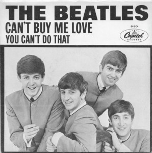 CAN'T BUY ME LOVE CAPITOL - THE BEAT CIRCUS CUNEO